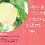 晴れの国岡山に育まれた、甘く芳醇な旬の味「まるとみの桃」(資料)