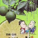 果汁だけじゃない!果皮も薬味として利用できる「へべす」という酢ミカン(資料)