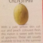 クレンショウメロン / Crenshaw melon