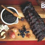 クラシック・ブルーベリーBBQソース(レシピ from BC Blueberries)