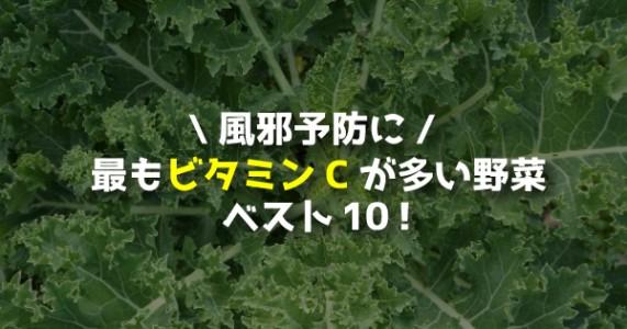 最もビタミンCが多い野菜ベスト10!風邪予防には何を食べればいいの?