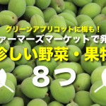 梅に水菜にグリーンアプリコット!?カナダのファーマーズマーケットで見つけた珍しい野菜果物8つ
