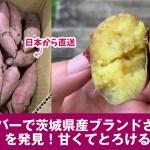 茨城県のブランドさつまいも 紅和み(べになごみ) をカナダで発見!焼き芋レシピ