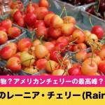 日本では幻のさくらんぼ?北米で人気のレーニア・チェリー(Rainier)まとめ